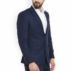 Mens Navy Blue Formal Suit, Size: 38 - 42 Inch