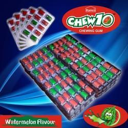 Watermelon Flavour Chewing Gum