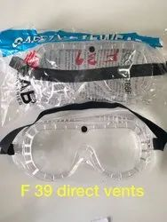 F-39 Chemical Splash with Perforated Frame Goggle