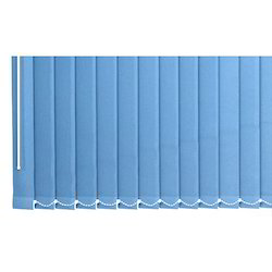 Blue PVC Window Blinds