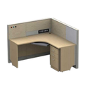 Modular Workstation I Modular Office Furniture L Type Workstation ( MRK Furniture )