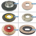 Electromagnetic Brake Shoe Disc