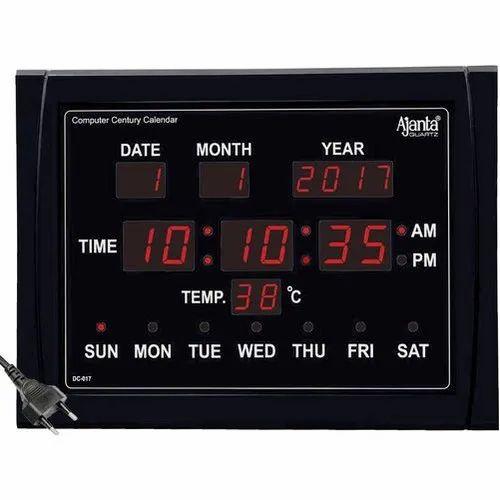 Ajanta Dc 017 Digital Wall Clock