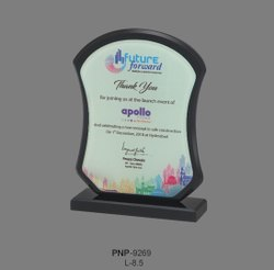 Golden Acrylic Trophy