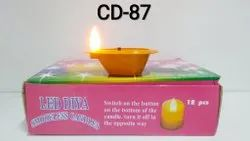 CD-87 LED DIYA CANDLE 12 PC.