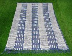 Indigo Cotton Printed Rugs & Carpets