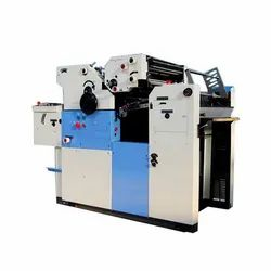 Two Color Non Woven Bag Offset Printing Machine