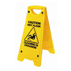 Flaps Caution Boards and Sign