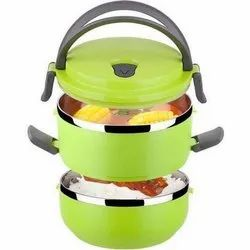 SS DOUBLE LAYER LUNCH BOX