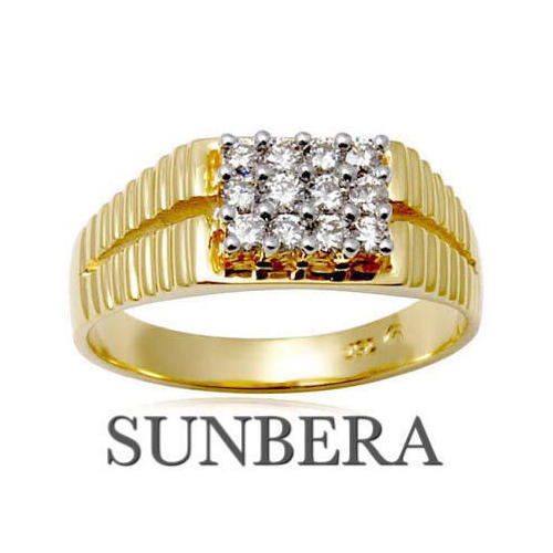 Sunbera Gold Mens Rings At Rs 30000 Tola Marine Lines East