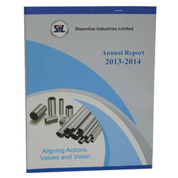 Paper Annual Reports, For Corporate