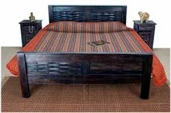 Harmony Double Bed Made Of Solidwood Sheesham Wood