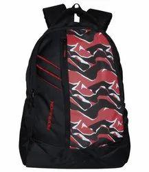Adamson Dg Prints Black And Red Laptop Backpack