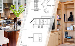 Interior Design, Size (feet): 500 Sq Ft