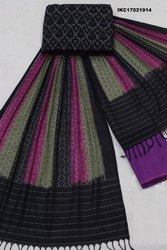 Ikat Cotton Suits Materials