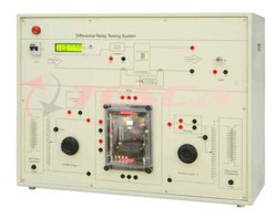 Differential Relay Testing System Trainer