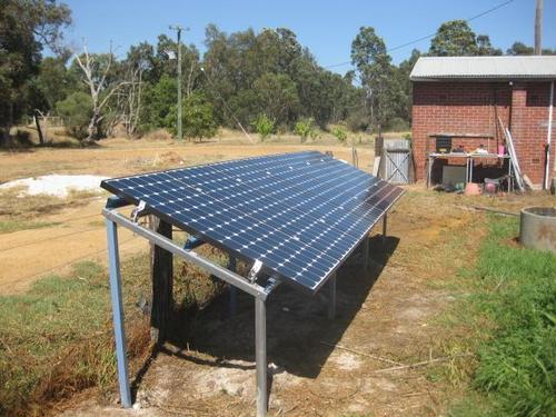 Solar Panel Stand At Rs 45 Kg Industrial Area Phase 2