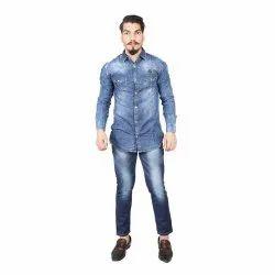 Blue slim fit Mens Denim Pant, Size: 28 30 320 340 36