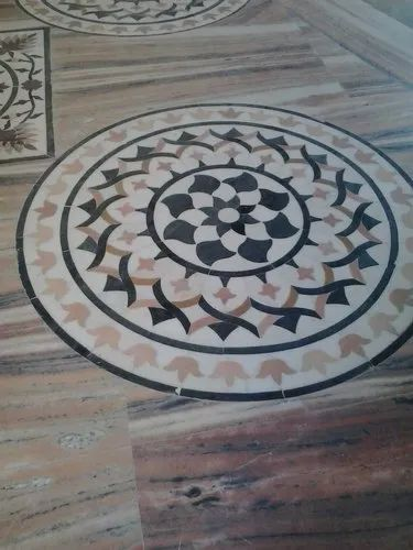 Marble Inlay Work for Commercial Building
