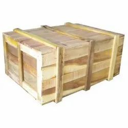 Brown Plywood Wooden Packaging Box
