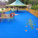 Blue Rubber Flooring