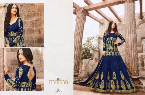 a370131b68 Georgette Full Sleeve Embroidery Work Salwar Suit, Rs 1580 /piece ...