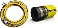 INDO-MAKSSON and TUBITEC Black Cement Handling Hose, Size: 2