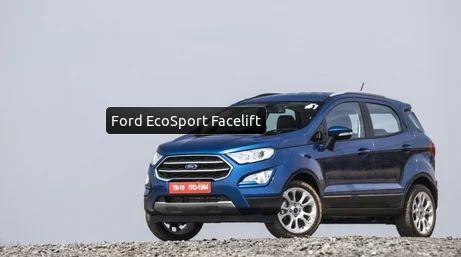 Ford Ecosport Facelift Car