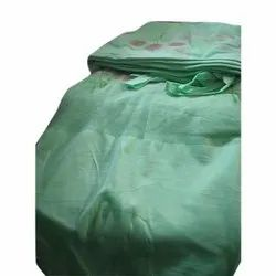 Sea Green Hanging Printed Mosquito Bed Net, Size: 5 L X 7 W Feet