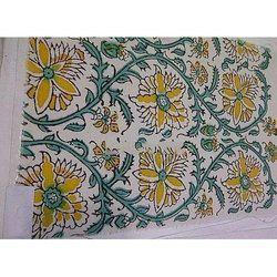 Sanganeri Block Printed Running Fabrics