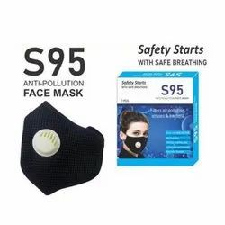 Black S95 Anti Pollution Face Mask