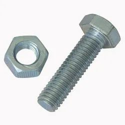 2 Inch MS Bolt Nut