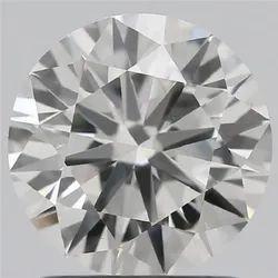 1.38ct Lab Grown Diamond CVD H VVS2 Round Brilliant Cut IGI Certified Stone