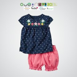Cotton Made In Africa Kids Shorts Set