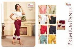Attic Plain Primium Pant Heavy Starchable Designer Pants Collection