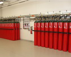 Automatic Carbon Dioxide Fire Extinguishing System