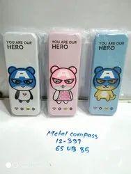 Designer Metal Compass, Packaging Type: Paper Box