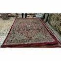 Printed Rectangular Persian Silk Carpet
