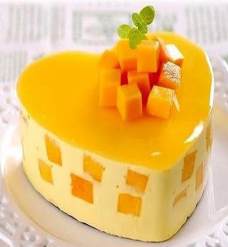 Round Square Fresh Mango Cake Pack Type Box Carton