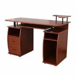 G Ten Brown Wooden Office Table