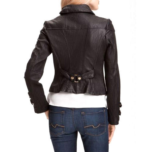 433b0b9d5028 Womens Dark Brown Fitted Leather Jacket at Rs 7499 /piece | Dongri ...