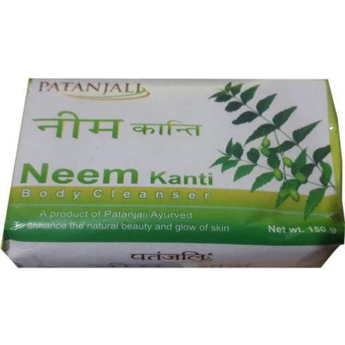 Radient Patanjali Haldi Chandan Kanti Body Cleanser Pack Of 3 bathing Soap 150 Gm