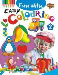 Fun With Easy Colouring 2 Book