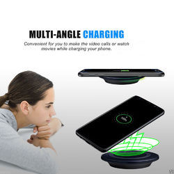 Black Qi Wireless Charger