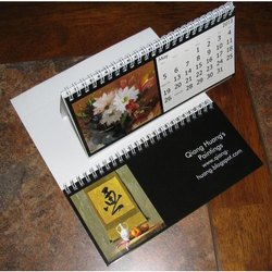Promotional Desktop Calendar