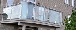Balcony Glass Railing