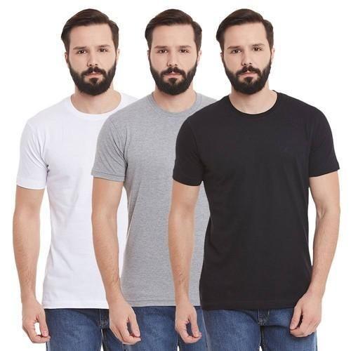 KIWI STAR Cotton Round Neck T Shirt