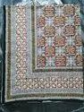 Bagru Discharge Hand Block Bed Sheets