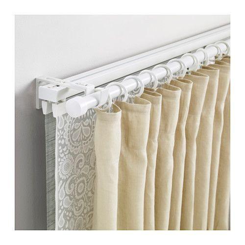 White Aluminum Traverse Curtain Rod Size 12 Feet Rs 200 Feet Id 19198990988
