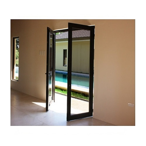 UPVC Main Door Brown Colour, Packaging Size: 50 - 100 Pieces